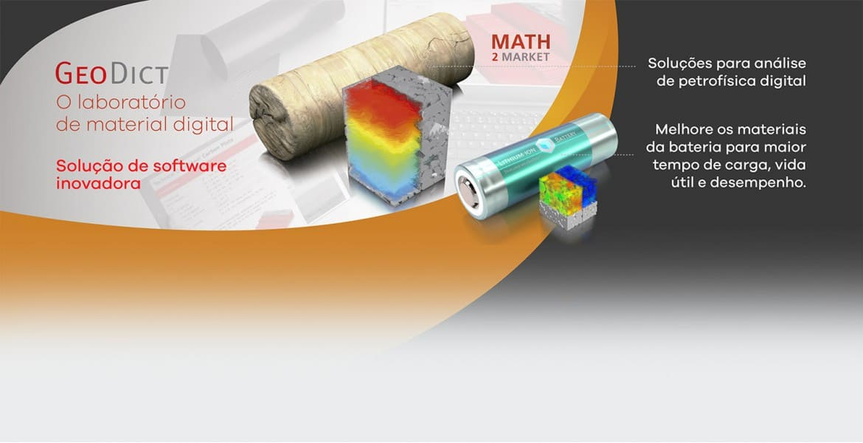 Software Simulador 3D Math2Market GeoDict