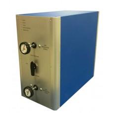 Permeâmetro a Gás em Regime Permanente para Análise de Rochas