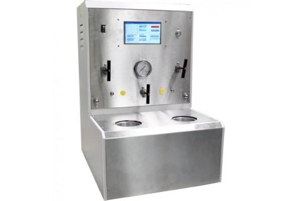 Analisador Ultrassônico de Cimento (UCA) de Células Gêmeas com Controle Automático de Pressão