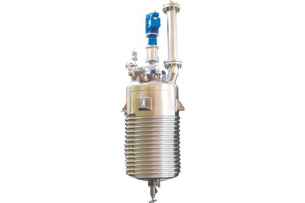 Reator de Alta Pressão por Indução a Gás para Hidrogenação e Reações Gás-Líquido AmAr