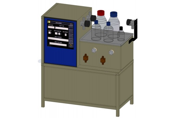 Reator Contínuo de Fluxo Automático AmAr